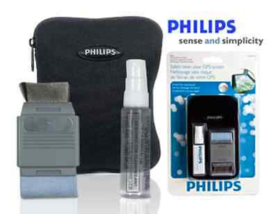 Philips GPS Storage Case and GPS Mobile Phone Cleaning Kit - New