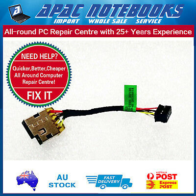 DC Power Jack for HP Pavilion 15-N Series, Short cable