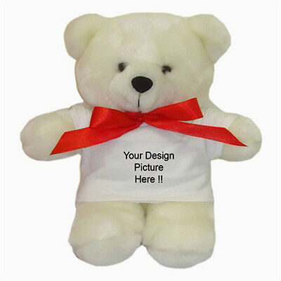 Personalized Custom Your Logo, Design, Photo, Text for Teddy Bear free shipping