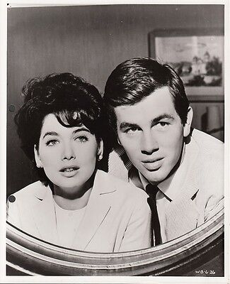 TROY DONAHUE - SUZANNE PLESHETTE - Orig Photo 'LOVERS MUST LEARN' 1962 #B12