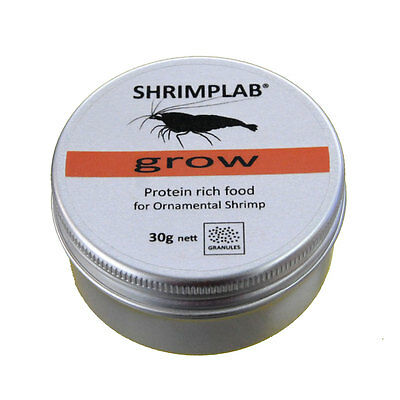 Shrimplab Grow Granules 30g - Protein Food for all Crystal Tiger Cherry Shrimp