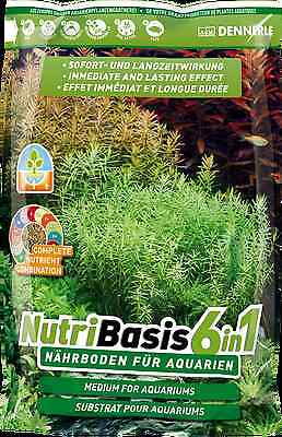 Dennerle NutriBasis 6in1 Top Quality Aquarium Plant Soil Substrate 9.6kg