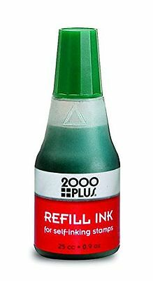 Cosco Self Inking Stamp Refill Ink 25cc 09 Oz Drip Spout Bottle