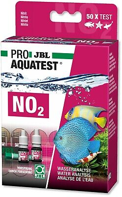 JBL Nitrite NO2 Test Kit Set for Fresh Water and Marine Aquariums 50 Tests
