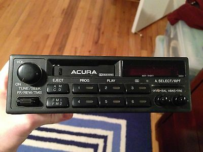 Acura Pioneer 39100-ST8-A000 FM/AM Radio Tape Cassette Audio Player