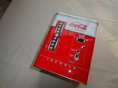 Great 1997 Advertising Tin From Coca Cola - Bottle Dispensing Machine