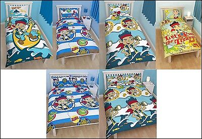 Jake And The Neverland Pirates, Single Double Queen, Doona Duvet Quilt Cover Set