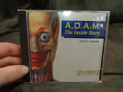 ADAM_The Inside Story Users Guide_used CD rom_ships from AUSTRALIA_A32