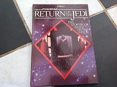 Vintage Original Star Wars The Return Of The Jedi Movie Annual 1983 St Michael