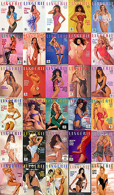 Playboy Book Of Lingerie Magazine 1989-1993 Complete Pdf Cd E-Book Free Shipping