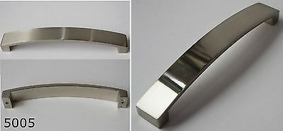 Kitchen Cupboard Cabinet Door Handle Bar Brushed Stainless Steel 160mm Centre