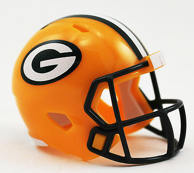 GREEN BAY PACKERS NFL Riddell Speed MICRO / POCKET-SIZE / MINI Football Helmet
