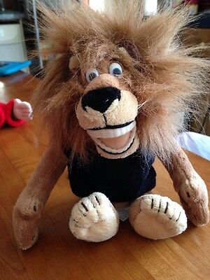 "Madagascar Alex Lion Plush 9"" Tall"