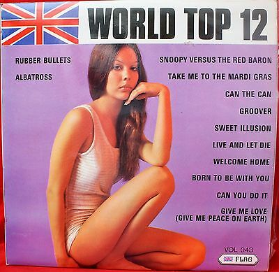 WORLD TOP 12 Vol 43 Flag RECORDS. LP. 1973. Sound like Covers