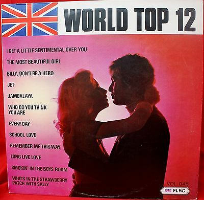 WORLD TOP 12 Vol 46 Flag RECORDS. LP. 1974. Sound like Covers