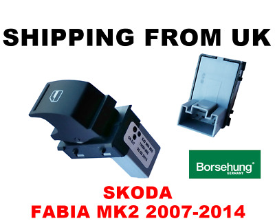 ELECTRIC WINDOW SWITCH CONTROL BUTTON FRONT REAR LEFT RIGHT for SKODA FABIA MK2