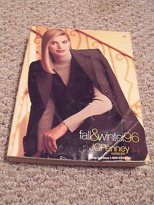 Vtg 1996 JCPenney Penneys Fall and Winter Department Store Catalog Book Fashion
