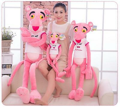 Cute Animation Pink Panther Stuffed Animal Plush Doll Baby Toy Gifts Kids Cotton