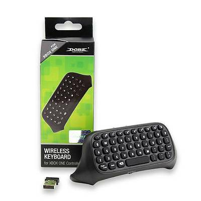 2.4G Mini Wireless Chatpad Message Text Keyboard for Xbox One Controller Gift UK
