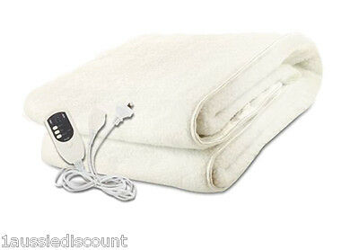 Brand New Electric Fully Fitted Blanket - Fully Washable - Queen Size