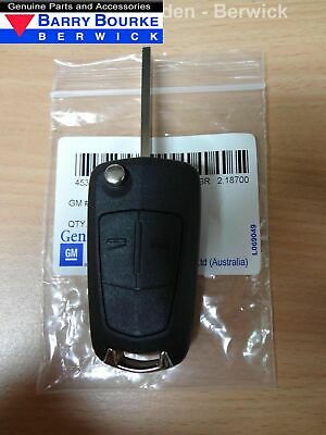 New Genuine Holden Complete Remote Flip Key Part 13149666