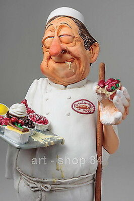 "GUILLERMO FORCHINO Comic Figuren - Professionals - ""DER BÄCKER"" - FO85539 NEU !!"