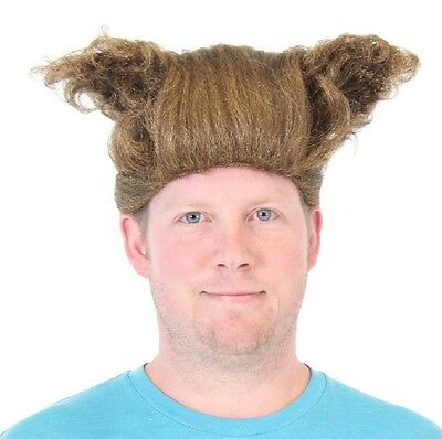 Adult Comedy Movie Space Balls Barf Half Man Half Dog Ears Mawg Costume Wig