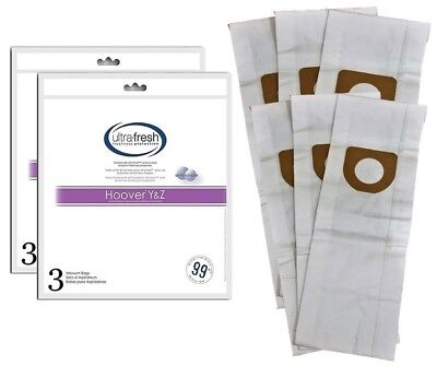 TYPE Y HOOVER WINDTUNNEL Upright Vacuum 3 Bags Included Fit Type Z by Electrolux