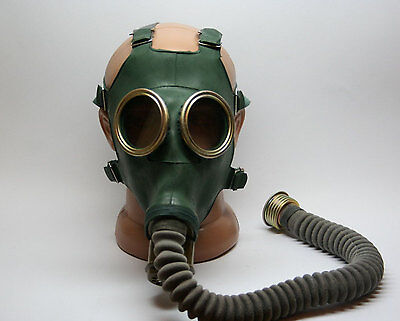 Russian military soviet Green gas mask GP-4 All Size . Only Mask