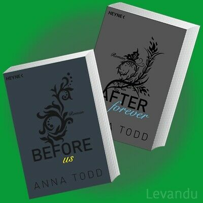 BEFORE US + AFTER FOREVER | ANNA TODD | Band 4+5 der Erotik-Roman-Reihe - NEU