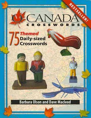 O Canada Crosswords: 75 Themed Daily-Sized Crosswords: Bk. 8 by Dave Macleod,...