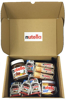 Nutella Ultimate Selection Box - The Perfect Nutella Lovers Gift - 15 Items
