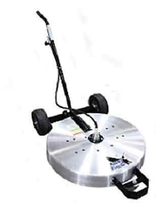 """Steel Eagle 30"""" Flat Surface Spinner Concrete Cleaner Straight Handle NEW"""