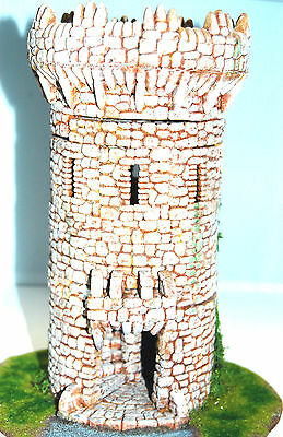 Warhammer Fantasy LOTR AoS Mordheim painted Tower - Terrain 28 mm scale Building