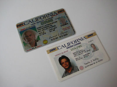 Back to the Future - Marty McFly & Doc Emmett Brown  Licenses ] BTTF