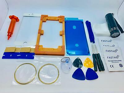 Front Glass, Screen Repair Kit, Loca Glue, UV Torch, Mould for iPhone 6S White