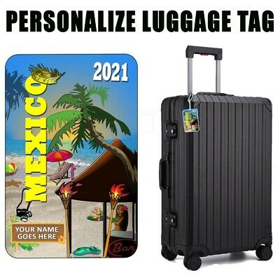 Personalized Travel Tag - Mexico