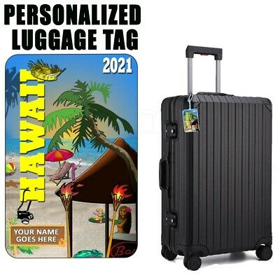 Personalized Travel Tag - Hawaii