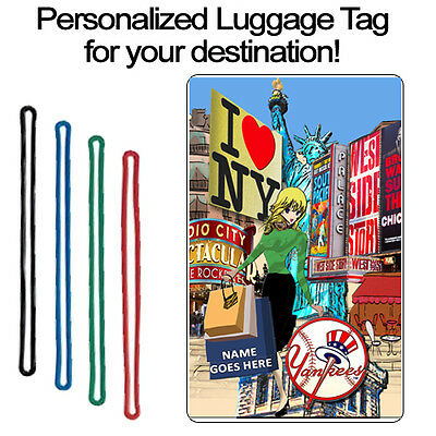 Personalized Travel Tag - New York