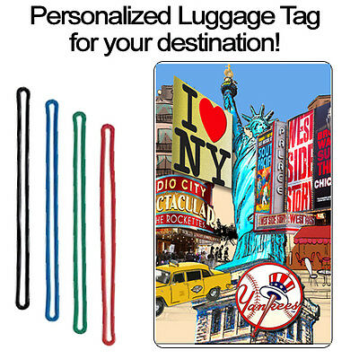Personalized Travel Tag - New York Generic