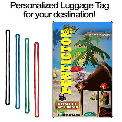 Personalized Travel Tag - Penticton