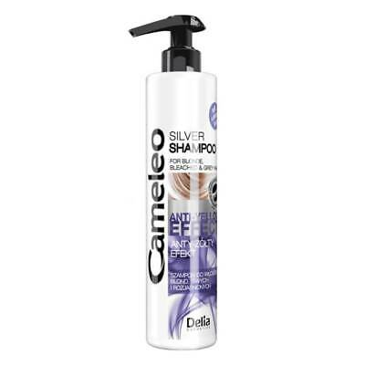 Delia Cameleo Silver Shampoo For Blond Bleached Grey Hair No Yellow Effect