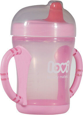 NEW Lovi Spout cup 200 ml Baby Infant toddler SIPPY CUP NON SPILL