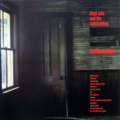 """LLOYD COLE AND THE COMMOTIONS Rattlesnakes 12"""" 180G Vinyl LP"""