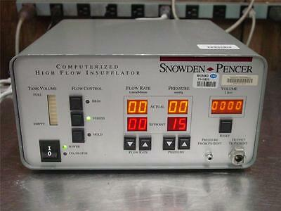 Snowden & Pencer Computerized High Flow Insufflator 89-8600