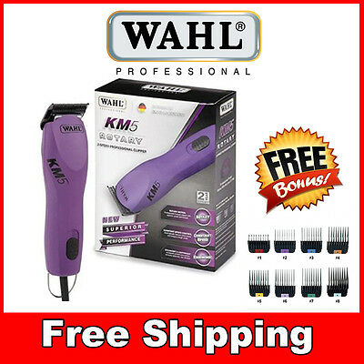 Wahl KM5 Pet Dog Clipper Grooming Fur Hair Trimmer Super Powerful 2 Speed