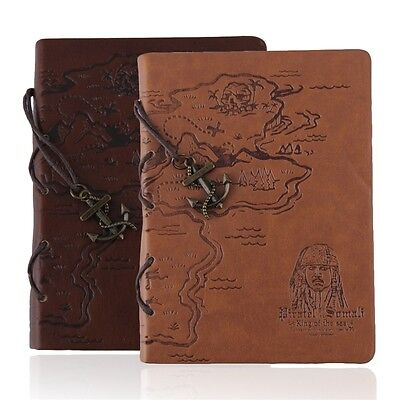 Retro Leather Vintage Classic String Blank Diary Journal Sketchbook Notebook OK