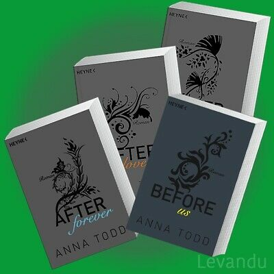 BEFORE US + AFTER FOREVER + LOVE + TRUTH | ANNA TODD | Band 2+3+4+5 Roman-Reihe