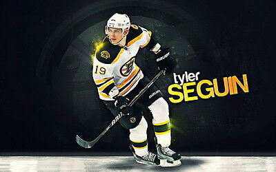 "601 NHL Super Stars - Tyler Seguin Boston Bruins 22""x14"" Poster"