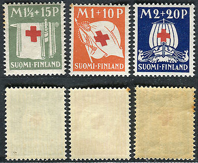 FINLAND 1930 RED CROSS SOCIETY/FLAG/SYMBOLIC/SHIP of MERCY/AID/MEDICINE MNH